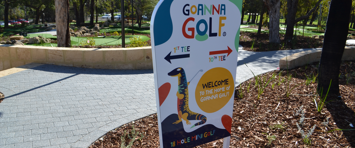 goanna golf entrance